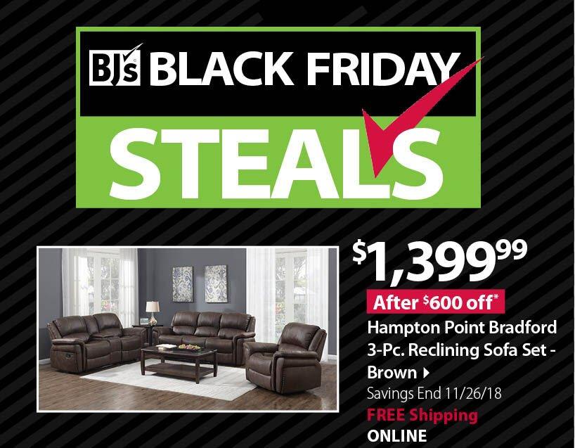 Home Meridian 3pc Sofa set