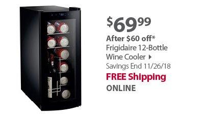 Frigidaire 12-Bottle Wine Cooler