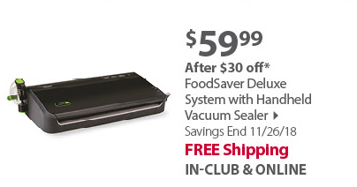 FoodSaver Deluxe System with Handheld Vacuum Sealer