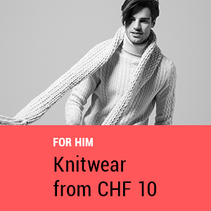 Knitwear for him from CHF 10