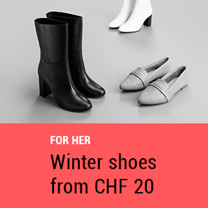 Winter shoes for her from CHF 20
