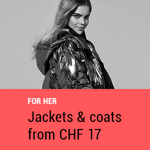 Jackets & coats for her from CHF 17