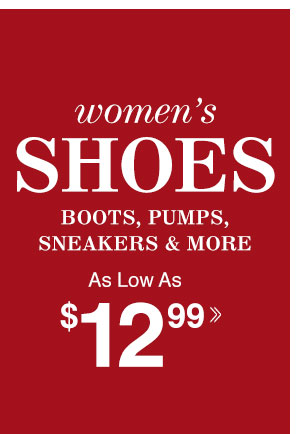 Shop Women's Shoes!