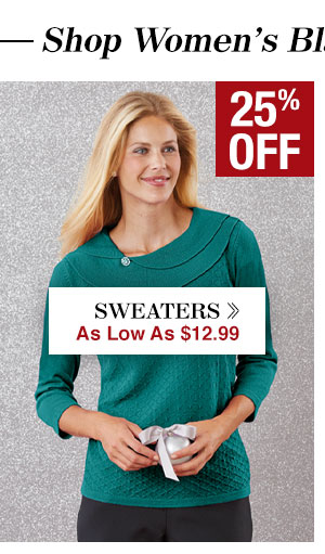 Shop Women's Sweaters!