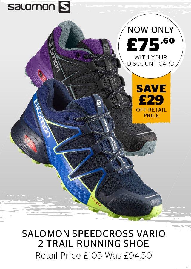 Salomon Speedcross Vario 2 Trail Running Shoe