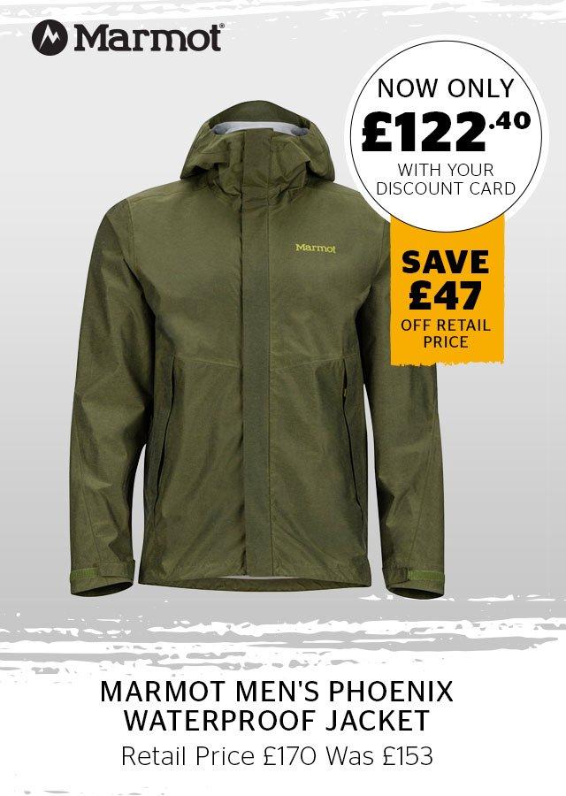 Marmot Men's Phoenix Waterproof Jacket