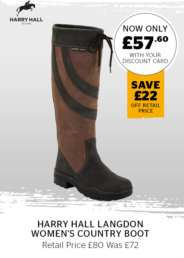 Harry Hall Langdon Women's Country Boot