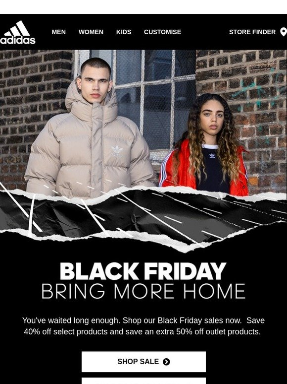 adidas Canada: Black Friday is here