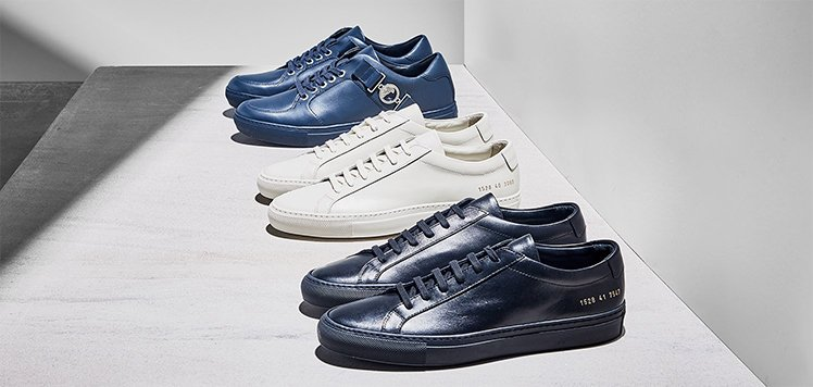 Deluxe Sneakers With Common Projects
