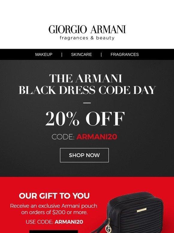 armani black friday 2018