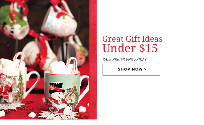 Great Gifts Under $15
