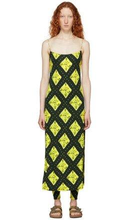 Marc Jacobs - Green Redux Grunge Cami Dress