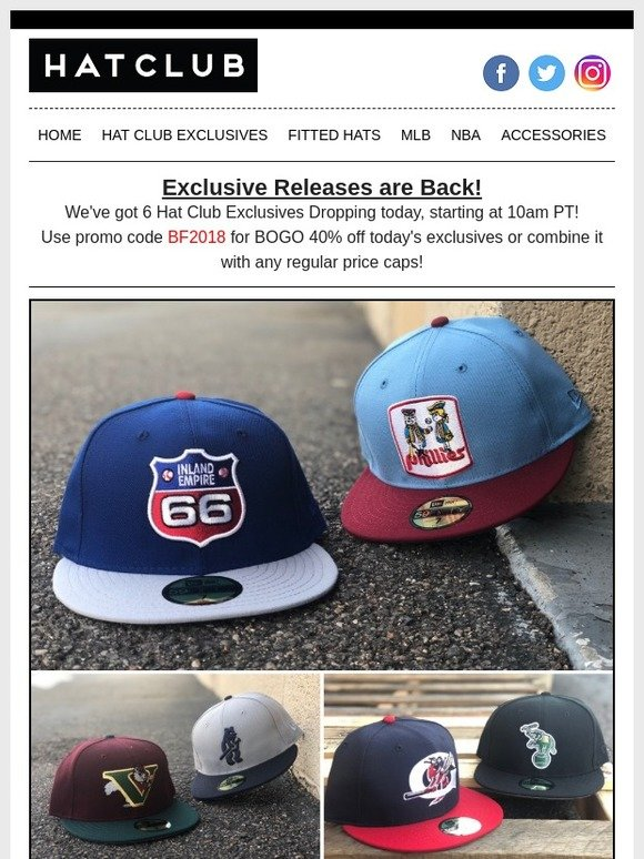 4f8b3d19 Hat Club: 🔥 Hat Club Exclusives Drop Today 🔥   Milled