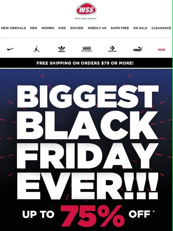 best website 7702d bbe73 Shop WSS  -BLACK FRIDAY! SAVE UP TO 75% + FREE SHIPPING.   Milled