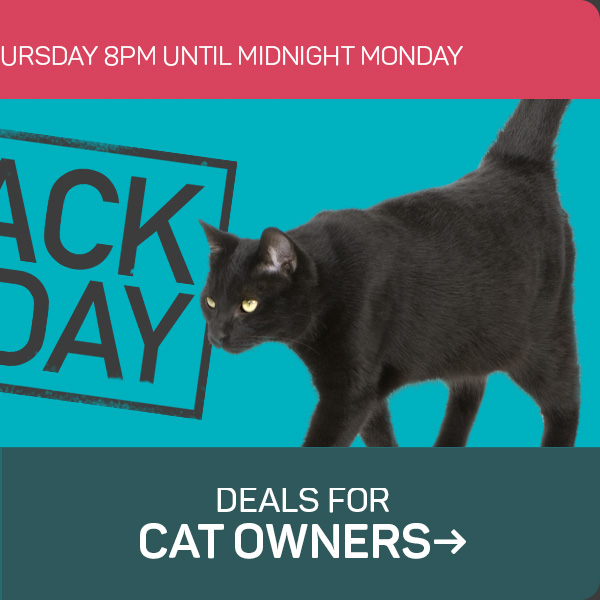 Deals for cat owners!