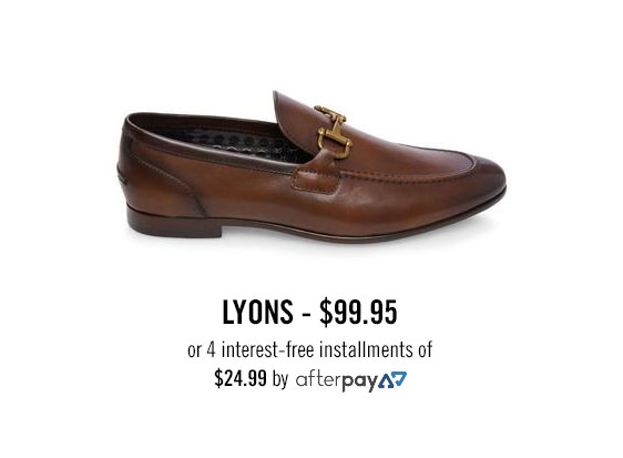 LYONS, $99.95 or 4 interest-free installments of $24.99 by afterpay