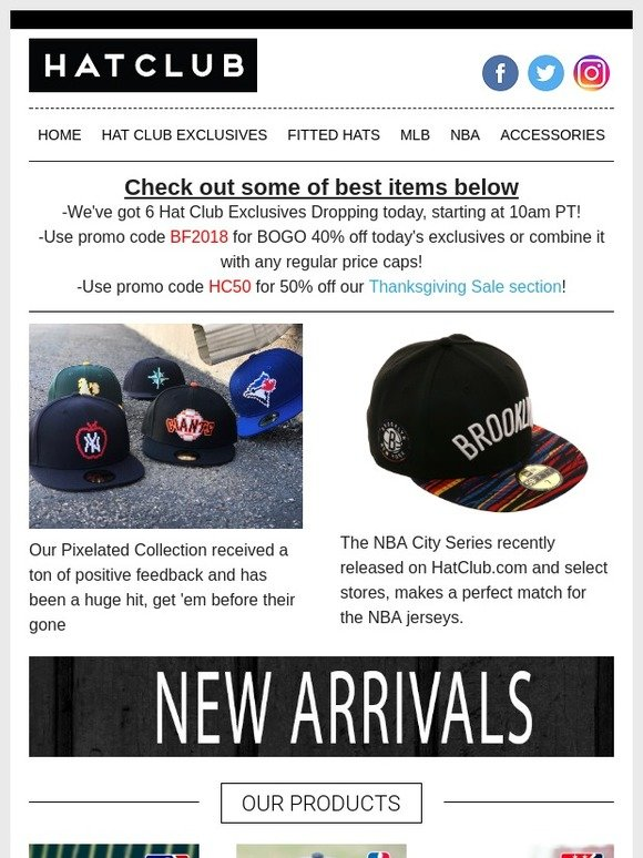 ea8f71f771100 Hat Club  Our Hottest 🔥 Collections and Newest Caps