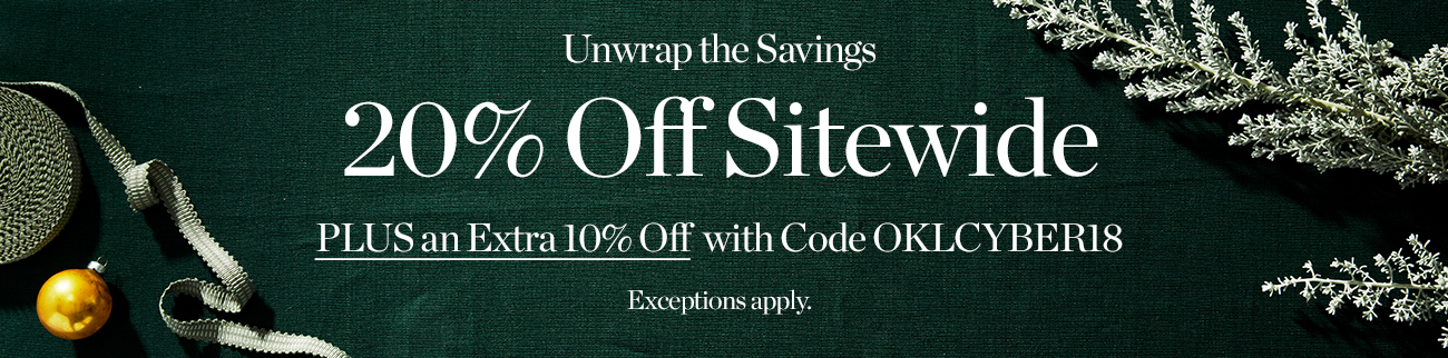 20% off sitewide + Extra 10%