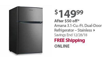 Whynter Freestanding 121-Can Beverage Refrigerator
