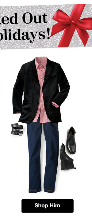 Shop Holiday Outfits for Him!