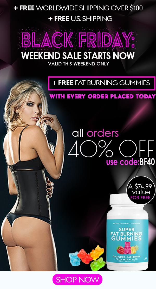 6ffb0a77bf8e3 Waist Shaperz  FREE Super Fat Burning Gummies included with Every ...