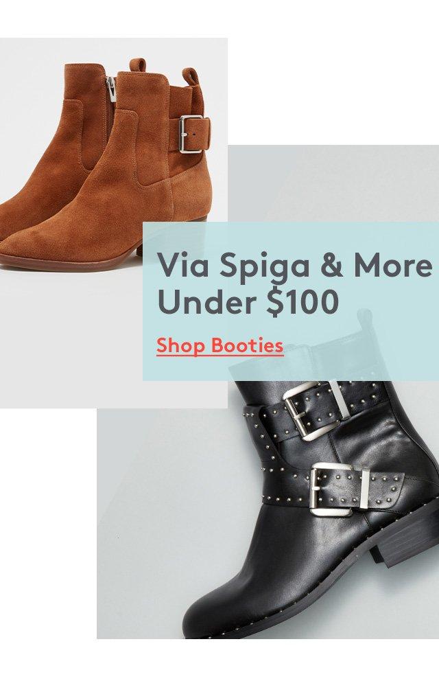 Via Spiga & More Under $100 | Shop Booties