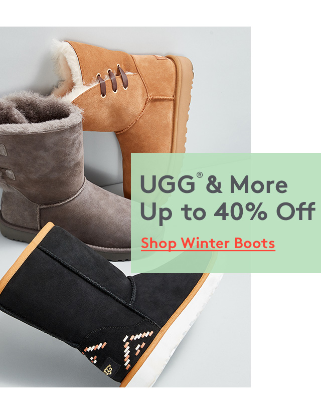UGG® Up to 40% Off | Shop Winter Boots
