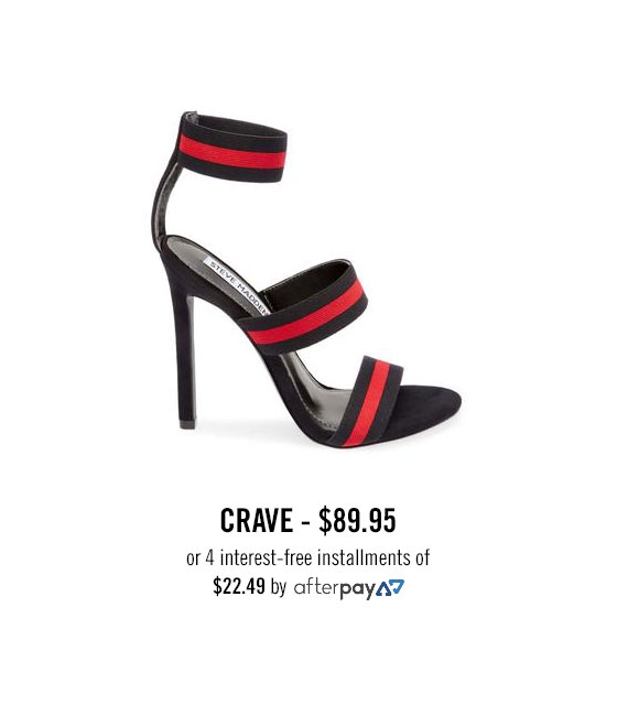 CRAVE, $89.95 or 4 interest-free installments of $22.49 by afterpay