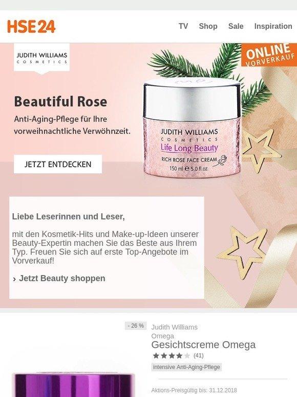 Hse24 Judith Williams Vorverkauf Jetzt Erste Beauty Angebote