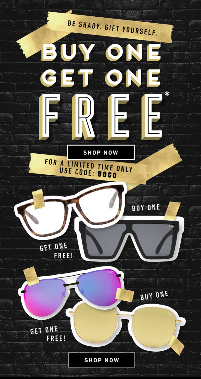 best cheap lace up in top quality QUAY AUSTRALIA: BUY ONE GET ONE FREE—Be Shady. Gift Yourself ...