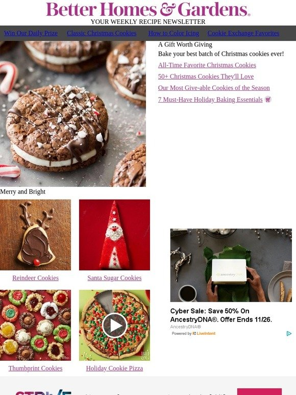 Better Homes And Gardens Classic Christmas Cookies They Re All