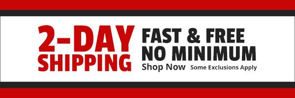 Fast & Free 2-Day Shipping No Minimum - Shop Now