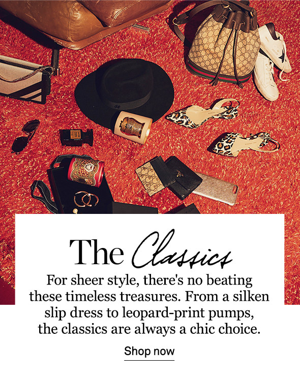 SHOP THE CLASSICS SHOP