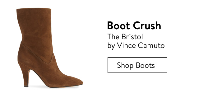 Boot crush, the Bristol by Vince Camuto.