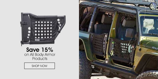 15% Off on All Body Armor Products