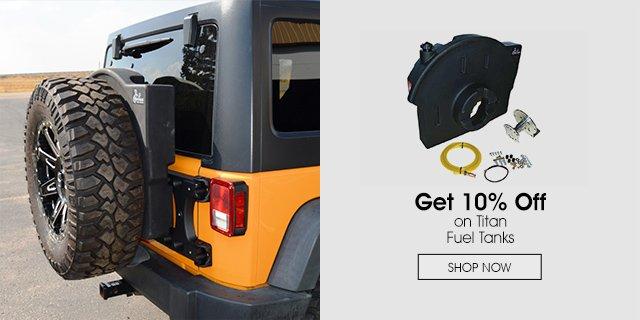 10% Off on Titan Fuel Tanks