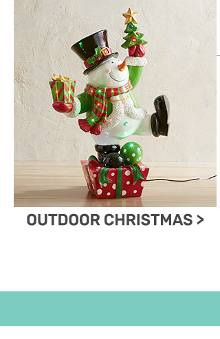 Buy one, get one fifty percent off outdoor Christmas.