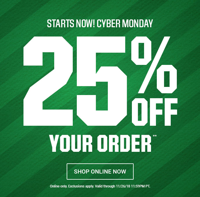 824e2fd561c42 The Sports Authority  25% OFF Online – Cyber Monday Starts NOW!