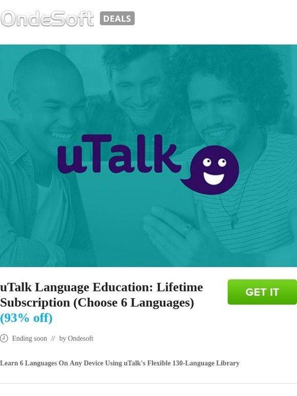 torrentsoft: uTalk Language Education: Lifetime Subscription