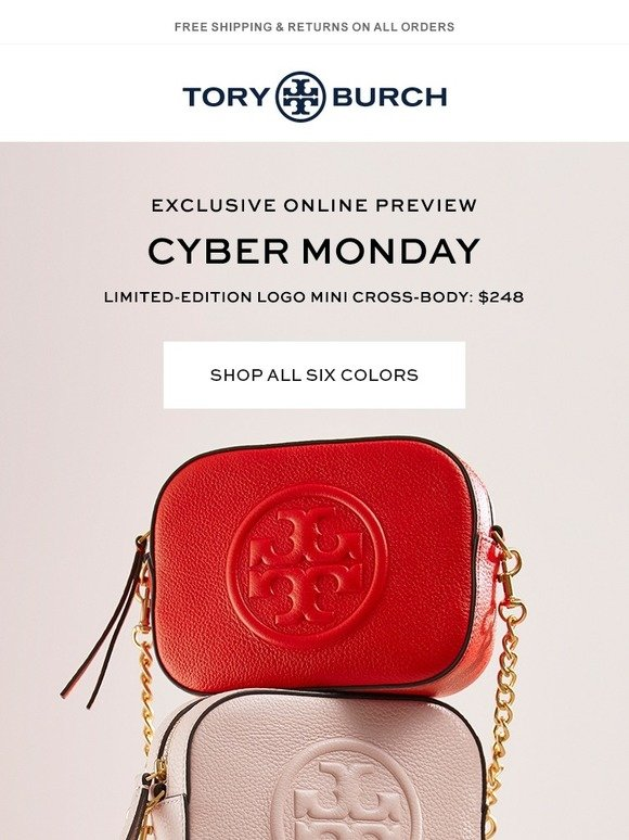 Tory Burch  Exclusive preview  Cyber Monday  75ef024cf2ccf