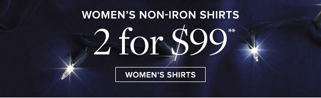 WOMEN'S NON-IRON SHIRTS