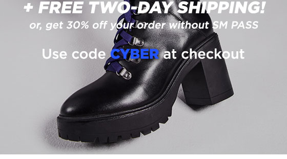 Use code CYBER at checkout