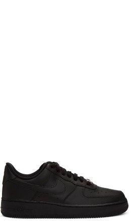 Nike - Black Air Force 1 '07 Sneakers