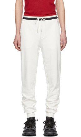 Moncler - White Retro Lounge Pants