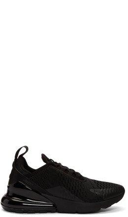 Nike - Black Air Max 270 Sneakers