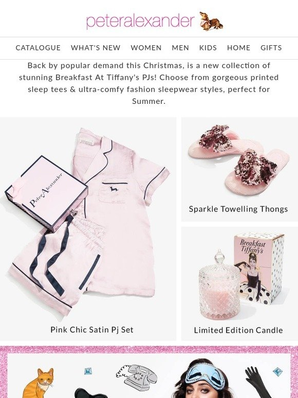 Peter Alexander New Zealand: All I want for Christmas is P A  PJs