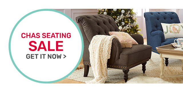 Chas seating on sale.
