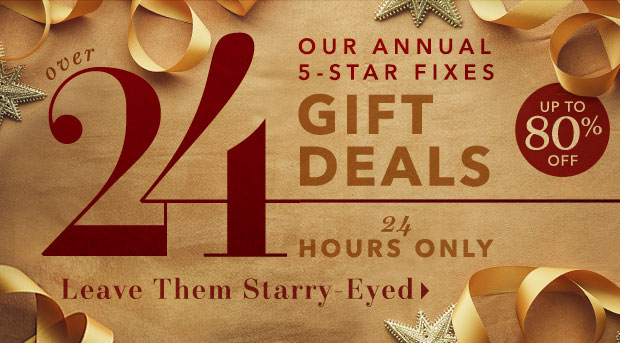 Up to 80% Off ★ CYBER GIFT DEALS ★ 24 Hours Left