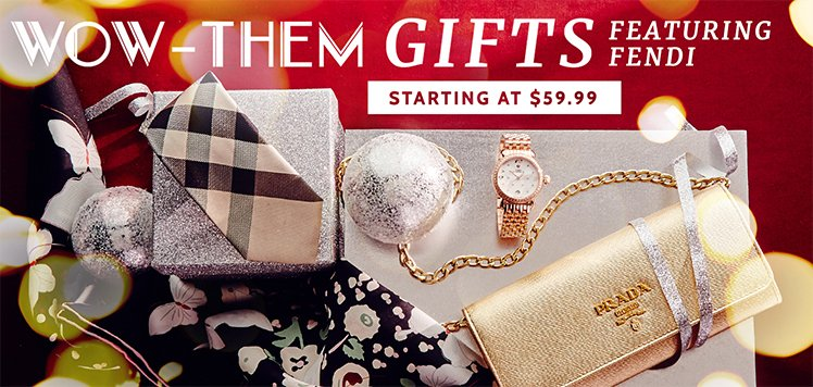 Luxury Gifts for Her, Him & More