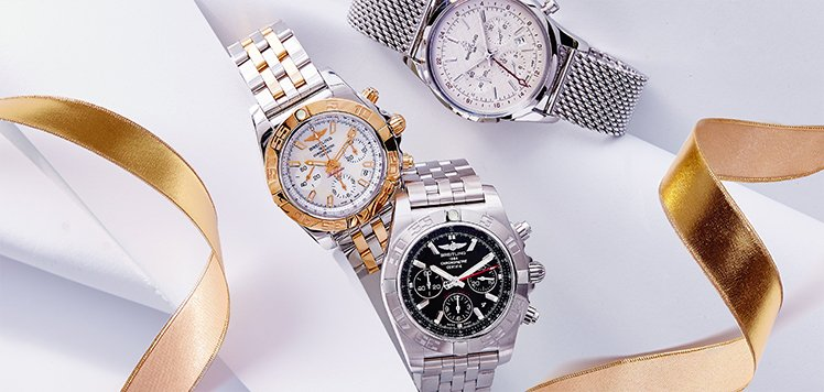 Men's Vintage Watches With Breitling